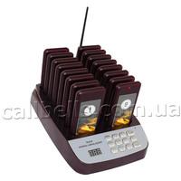 Комплект беспроводная пейджерная система Chokolate