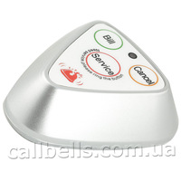 Кнопка вызова официанта R-133 Silver