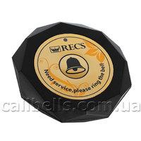Кнопка вызова официанта RECS R-600 Black USA
