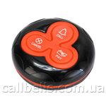Кнопка вызова персонала RECS R-333 Red Black USA